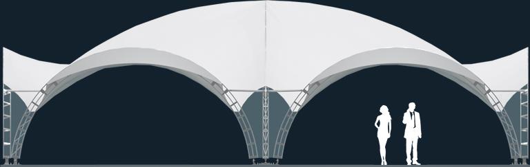 Модель ArcoTenso Grand 320м2