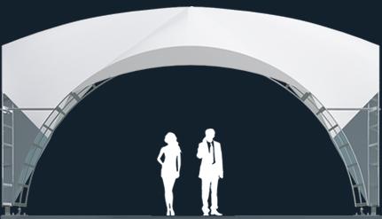 Модель ArcoTenso Dune 120м2